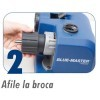 Afiladora de brocas Ø 2,5-13 MM AFB10 BLUE MASTER