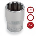 "Llaves de vaso BiHexagonales 1/2"" CrV DOGHER TOOLS"