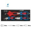 Base cuatro alicates alta potencia CrV 62 HRc 1/4 DOGHER TOOLS