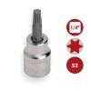 "Base 46 pzs Vasos Hexagonales 1/4"" Carraca y accesorios DOGHER TOOLS"
