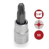 "Base 46 pzs Vasos BiHexagonales 1/4"" Carraca y accesorios DOGHER TOOLS"