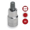 "Base 26 vasos punta Hexagonal Torx y XZN 1/2"" CrV S2 DOGHER TOOLS"