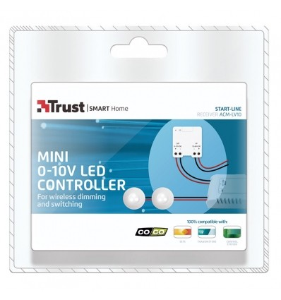 Mini atenuador interruptor empotrable LED 0-10 V ACM-LV10 TRUST