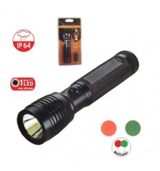 Linterna Tecno Led 1 W 3 colores 60 lm IP64