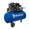 Compresor 3 HP 100 litros de transmisión correas VCX100 MICHELIN