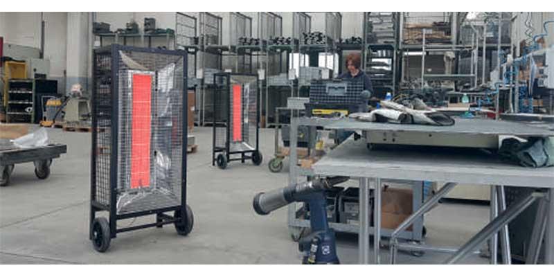 Calefactor a gas IRMIN306-308