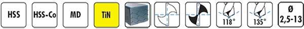 Características afiladora de brocas 500X DRILL DOCTOR