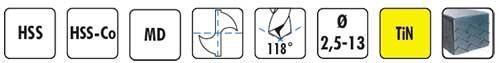 Características afiladora de brocas 360X DRILL DOCTOR de DAREX