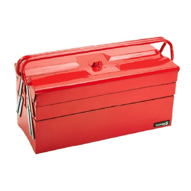 Caja de herramientas profesional metal 5 bandejas DOGHER TOOLS