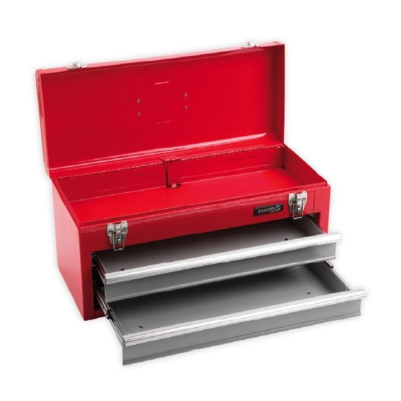 Caja de herramientas metal con 2 cajones DOGHER TOOLS