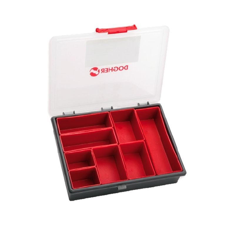 Organizador con cajas y asa móvil 24 x 19 cm DOGHER TOOLS