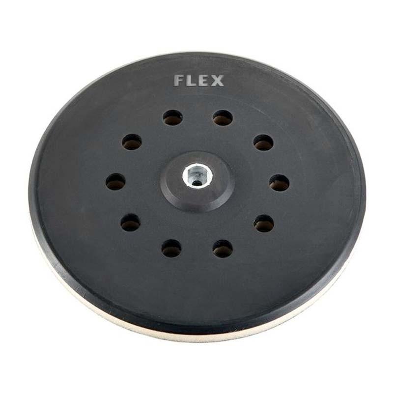 Plato de lijado redondo semi-duro con velcro 225 mm SP-M D225-10 FLEX