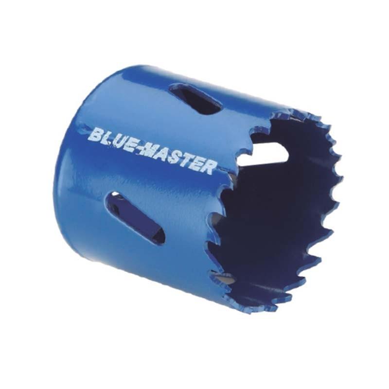 Brocas de corona HSS BI-METAL acero rápido M3 4/6 diente variable BLUE MASTER